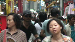 Yokohama chinatown - stock footage