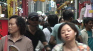 Stock Video Footage of Yokohama chinatown