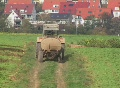 Tractor with dung tank Footage