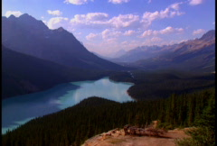 Peyto Lake 1 Stock Footage