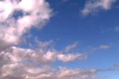Jm001.Blue Skies Stock Footage