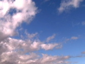 Jm001.Blue Skies Stock Footage