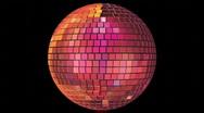 Seventies - Mirrorball Loop Stock Footage