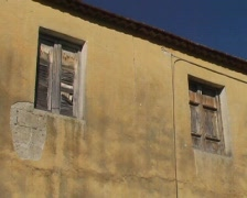 Old building in italy Stock Footage