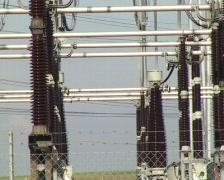 High voltage conversion - stock footage