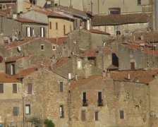 Tuscany buildings Stock Footage