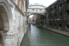 Bridge of Sighs, Venice, Italy Stock Footage