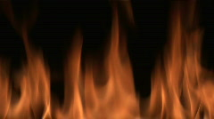 Close up of Flame - stock footage
