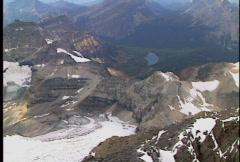 Summit of Assiniboine 3 Stock Footage