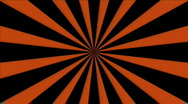 Stock Video Footage of Modern Pinwheel: Black & Orange