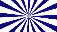 Modern Pinwheel: Blue & White Stock Footage