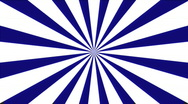 Stock Video Footage of Modern Pinwheel: Blue & White