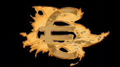 Liquid Gold - Euro HD720 Stock Footage