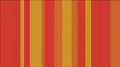 Modern Orange Stripes Loop HD - stock footage
