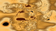 Stock Video Footage of Liquid Gold - Copyright HD1080