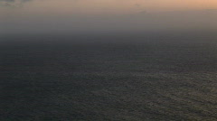 Twilight Sea Stock Footage