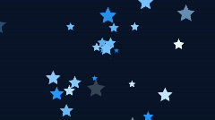 Stars continuously shoot towards the screen (High Definition 1080p) - stock footage