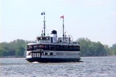 Toronto Islands Ferry Stock Footage
