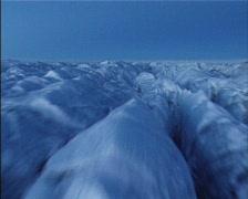 Glacier aerial 1 Stock Footage