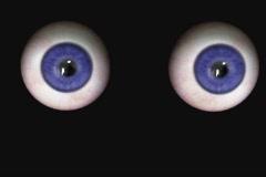 Eye movements Stock Footage