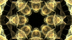 Flame Fractal Kaleidoscope (HDV) Stock Footage