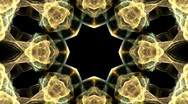 Stock Video Footage of Flame Fractal Kaleidoscope (HDV)