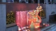 Rockefeller center Stock Footage