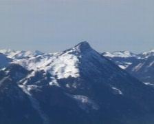 Alpine Panorama Stock Footage