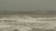 Stormy sea with sound HD 1080i Stock Footage