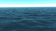Stock Video Footage of Lost at sea in the afternoon sun (Looping, Hight Definition 1080P)