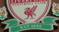 Stock Video Footage of Liverpool Football Club Crest