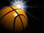 Stock Video Footage of basketball and sun