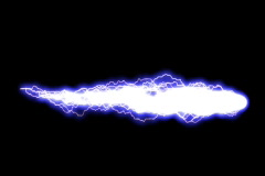 White Lightning Comet Stock Footage