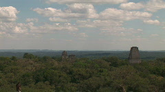 Tikal ruins same view used in Star Wars Stock Footage