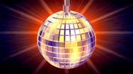 Disco globe Stock Footage