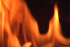 Stock Video Footage of Flame burning