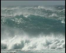 big Waves on Maui Hawaii - stock footage