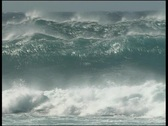 Stock Video Footage of waves wind maui