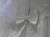 Wedding Dress Back2 Stock Footage