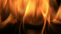 Close up of Flame Stock Footage