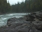 Stock Video Footage of Bailey's Chute Waterfall