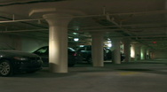 Stock Video Footage of Parking Garage 1