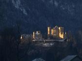 Castle Hohenschwangau Stock Footage