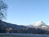 Neuschwanstein and Hohenschwangau Stock Footage