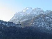 Castle Neuschwanstein Stock Footage