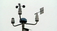 Stock Video Footage of Weather measurement devices