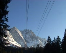 Cable car going up Stock Footage
