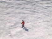 Stock Video Footage of Inexperienced skier
