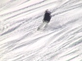 Stock Video Footage of Inexperienced snowboarder