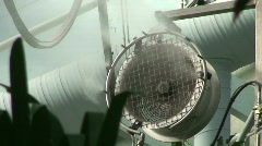 Greenhouse air-conditioning Stock Footage